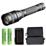 Z20 XHP70.2 XHP50 zoom tactical powerful led flashlight torch