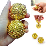 Hand foot massage ball Acupuncture ball Health Care Body Massager Relax Hand Massage for lose Weight stress Release tools