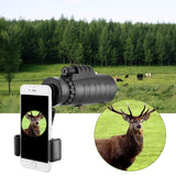 Traveling Telescope Monocular Phone Lens Restore Nature True Color Flexible 10 Magnification Telescopes for IPhone IPad Samsung