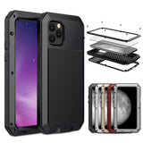 Heavy Duty Metal Aluminum Phone Case for iPhone 11 Pro Max XR XS MAX 6 6S 7 8 Plus X 5S SE 2020 Doom Armor Shockproof Case Cover