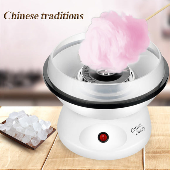 Hot Mini Home DIY Children Cotton Candy Maker Girl Boy Gift 110V / 220V Portable Marshmallow Machine Chinese Tradition