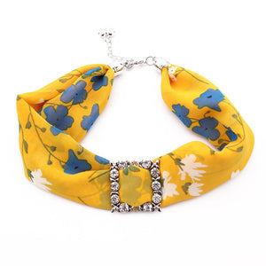 Multi-style Jewelry Statement Necklace Pendant Scarf Women Bohemia Neckerchie