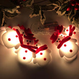 LED Christmas Snowman Strings Christmas Tree Holiday Party Decoration Lantern Outdoor lights led lights Decorative