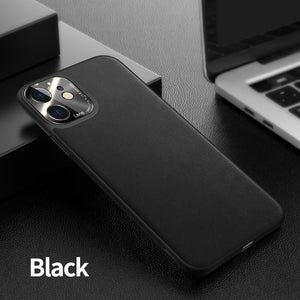 Leather Case For iPhone 11 Case True Leather Case For iPhone 11 Pro Max Case Luxury Shockproof Protective Cover Joyroom