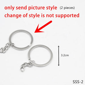 Letter Keychain Man Lovers Key Chain Women Key Holder Couples Keyring Party Queen King Key Ring Puzzle Pendant Alloy Porte Clef