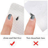 Lint-Free Nail Polish Remover Cotton Wipes UV Gel Tips Remover