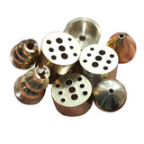 Mini Metal Incense Burner Inserted Seat For Stick Incense Backflow Incense Holder Aromatic Smoke Waterfall Censer porta incienso