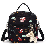 Mom Diaper Bag Waterproof Nylon Baby Nappy Bag Women Travel Backpack