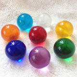 Multicolor Quartz Glass Ball Globe Home Decoration Feng Shui Crafts Photography