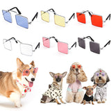 New Creative Lovely Glasses Cat Pet Products Eye-wear Sunglasses For Small Dog Cat Glasses Photo Props