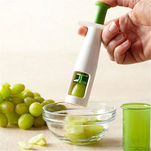 New Grips Grape Tomato and Cherry Slicer Kitchen Vegetable Fruit Cutter