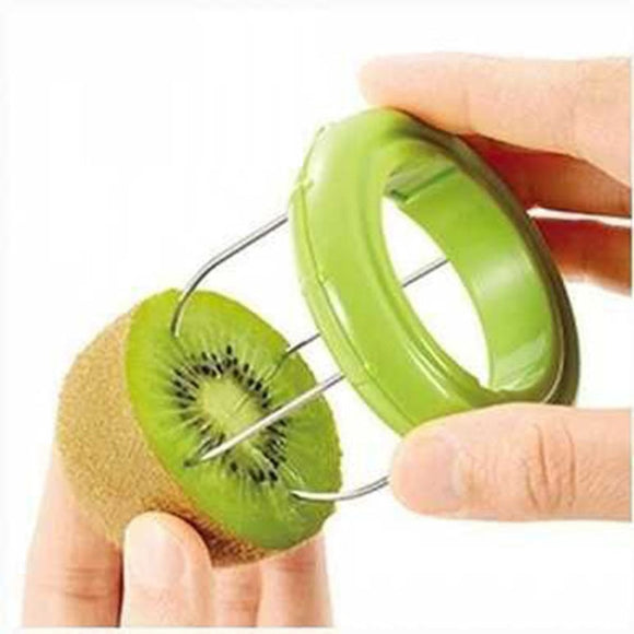 New Style Cooking Tools Kitchen Fruit Kiwi Cutter Device
