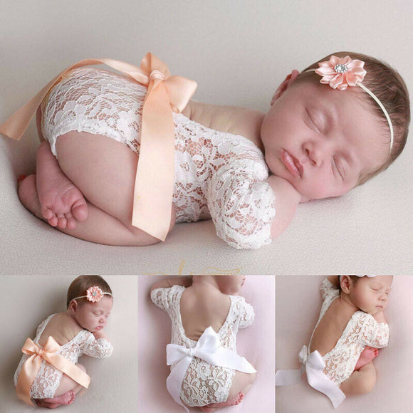 Newborn Baby Photography Props Clothes Bodysuits