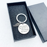 Creative Keychain Man Not Sisters By Blood Key Chain