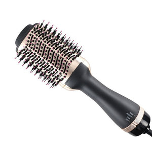 One Step Hair Dryer and Volumizer 3 in 1 Hot Air Brush Professional Blow Dryer Comb Curling Iron Hair Straightener Brush