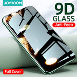 Private Screen Protector For iphone 12 11Pro Max X XS MAX XR Anti-spy Tempered Glass For iPhone 12 mini Privacy Glass Joyroom