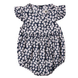 Flower Newborn Baby Girl Rompers Summer Baby Girls Clothing Ruffles Rompers Jumpsuit Playsuit