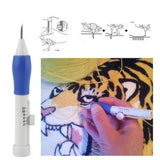 Punch Pen Sewing Interchangeable Accessories Embroidery Needle Set