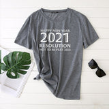 Seeyoushy Woman Tshirts Happy New Year 2021 Print Shirts for Women Fashion Harajuku Tops Casual Female Plus Size Camiseta Mujer