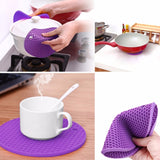 Silicone Pot Holders, Multipurpose Round Pot Holders