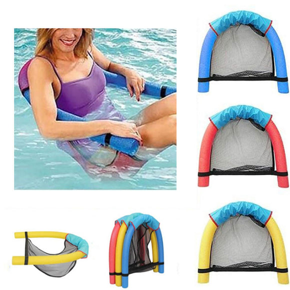 Swimming Floating Chair Pool Kid Adult Bed Seat Water Float Ring Lightweight Beach Ring