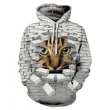 The latest design is a women's animal-print long-sleeve hoodie in a thin spring/fall print for both men and women