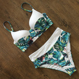 Tropical style Bikini Swimwear Women Swimsuit 2020 Brazilian Bikini Set Push Up Bathing Suit Female Summer Beach Wear Biquini