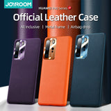 True Leather Case For Huawei P30 P40 Pro Case Shockproof Official Color Cover For Huawei Mate 30 pro Mate 20 Pro Case