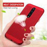 Ultra-thin Cooling Cover For Xiaomi Mi A3 CC9 9T Matte Heat Dissipation Phone Bumper For xiaomi A3 Lite CC9E 9T Pro Cases
