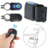 Wireless Vibration Alarm Lock Bicycle Bike Security System With Remote Control Anti-Theft