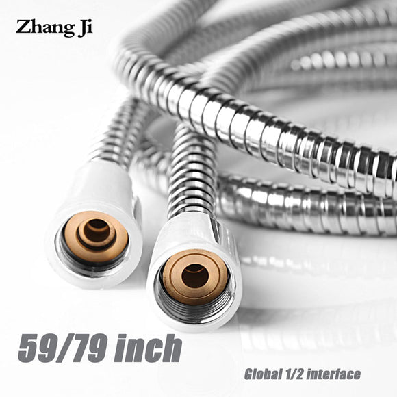 General Flexible Soft Water Pipe 1.5m or 2m Rainfall Common Shower Hose Chrome Plating Shower Pipe Bathroom Accessories
