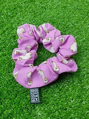 Bosco & Co Scrunchie: Pink Alpaca