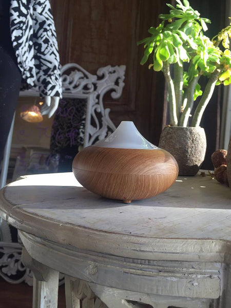 Oil Diffuser - Teardrop - Woodgrain