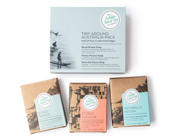 Trip Around Australia Gift Pack 'The Australian Natural Soap Company'
