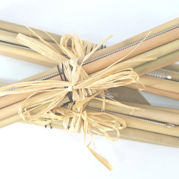 Bamboo Reusable Eco Straws