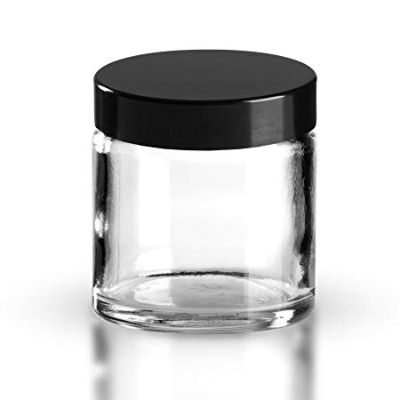 Glass Cream Jar