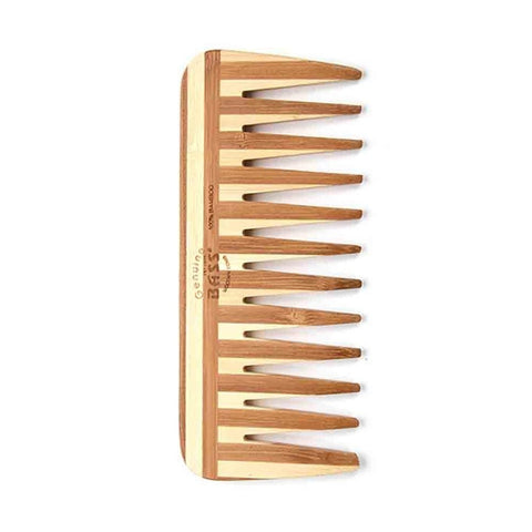 Bass Brushes Bamboo Comb Wide Tooth
