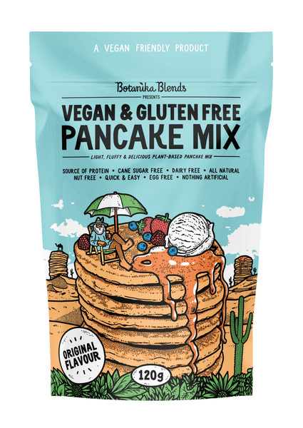 Vegan & Gluten Free Pancake Mix 'Botanika Blends'