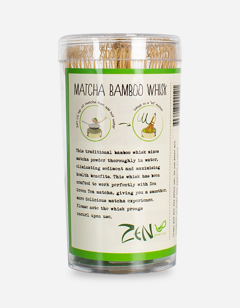 ZEN Matcha Tea Bamboo Whisk