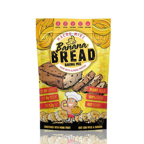 Banana Bread Baking Mix 'Macro Mike' 300g