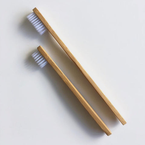 "Eco Bamboo Adult or Child Toothbrush ""Go Bamboo"""