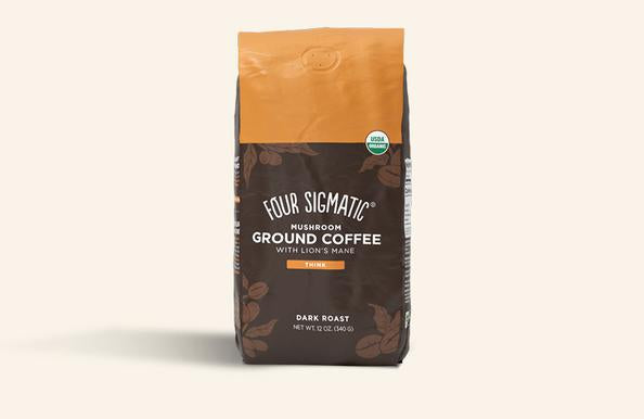 Mushroom Ground Coffee Mix with Lion's Mane 'Four Sigmatic'