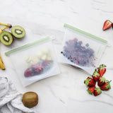 Reusable Silicone Food Pouches 'Ever Eco' Set of 2