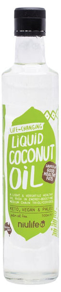 Coconut Oil Liquid Fractionated  Niulife  500ml