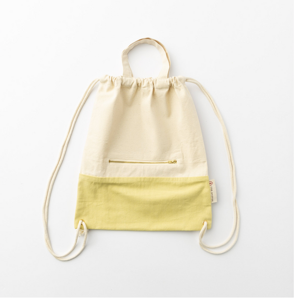 The Keeper 'Two Tone Satchel Drawstring Bag'