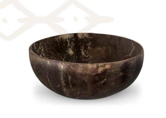 Coconut Shell Bowl Polished 'Niulife'