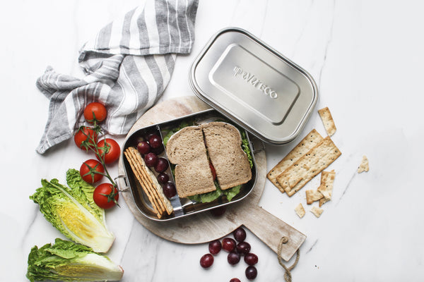 Stainless Steel Bento Lunchbox 2 compartment 'Ever Eco'