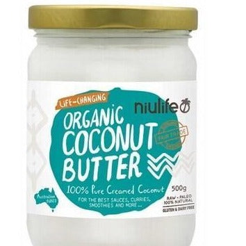 Coconut Butter 100% Pure Creamed Coconut 'Niulife'