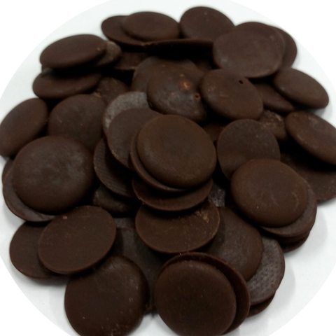 chocolate vegan chips & buttons