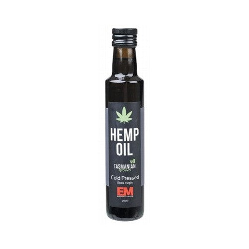 EM Superfoods Hemp Oil Cold Pressed